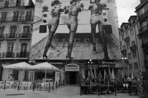 Werbung, Lissabon 2014
