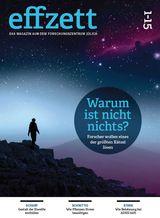 Cover effzett, ein Magazin der Forschungszentrums Jülich, Titelgeschichte: Frank Frick