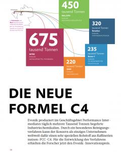 Seite aus Artikel im Magazin des Chemieunternehmens Wacker