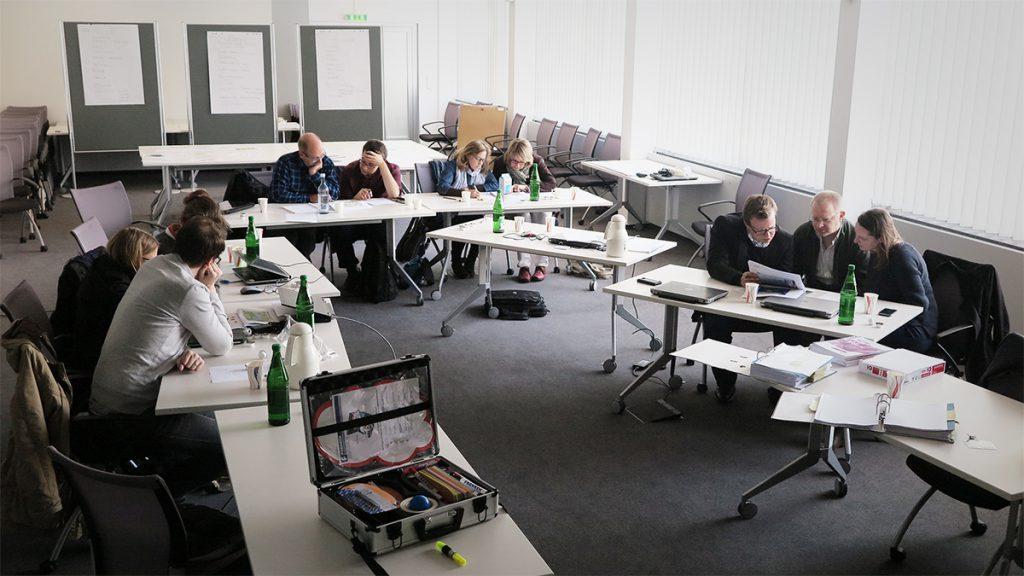 Teilnehmer des Workshop Infografik
