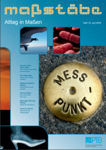 Messen steht im Mittelpunkt des Magazins Maßstäbe