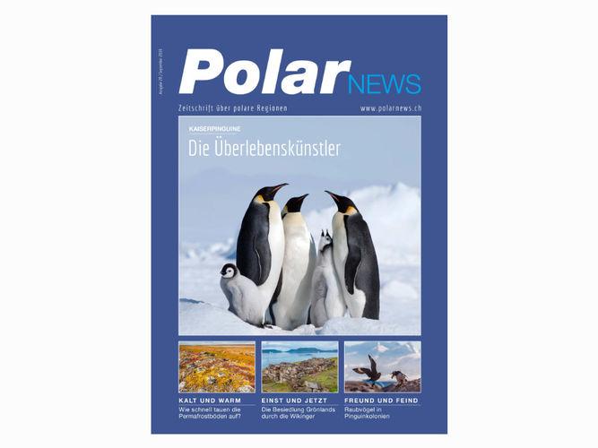 Zeitschriftenredakteur Frank Frick ist verantwortlicher Zeitschriftenredakteur der PolarNews, Ausgabe 28