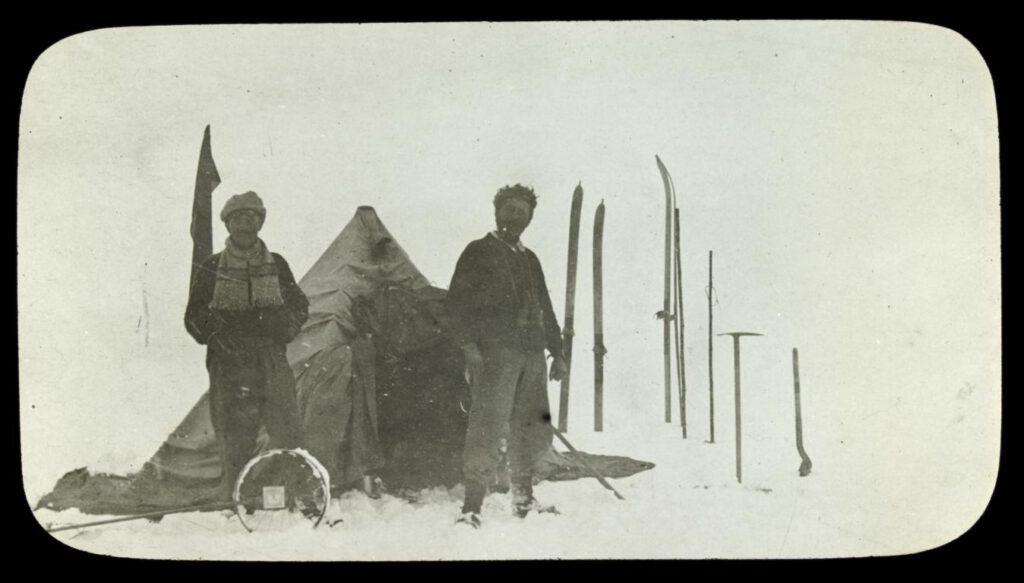 Bild zeigt die Isolation früher Antarktis-Entdecker