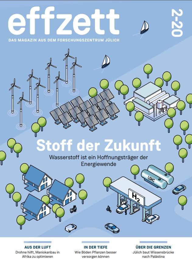 Blick auf das Cover der effzett-Ausgabe 2-2020